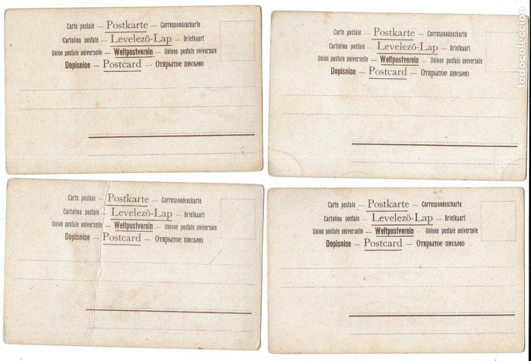 Postales: CR-269. 14 POSTALES ALEMANAS ILUSTRADAS E.S.D. - Foto 7 - 179141597