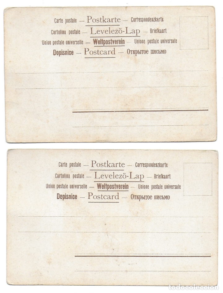Postales: CR-269. 14 POSTALES ALEMANAS ILUSTRADAS E.S.D. - Foto 8 - 179141597