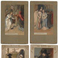 Postales: CR-269. 14 POSTALES ALEMANAS ILUSTRADAS E.S.D. . Lote 179141597
