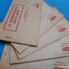 Postales: LOTE DE POSTALES. ONTOLOGIA. DENTISTA. COMPLETO. Lote 179165357