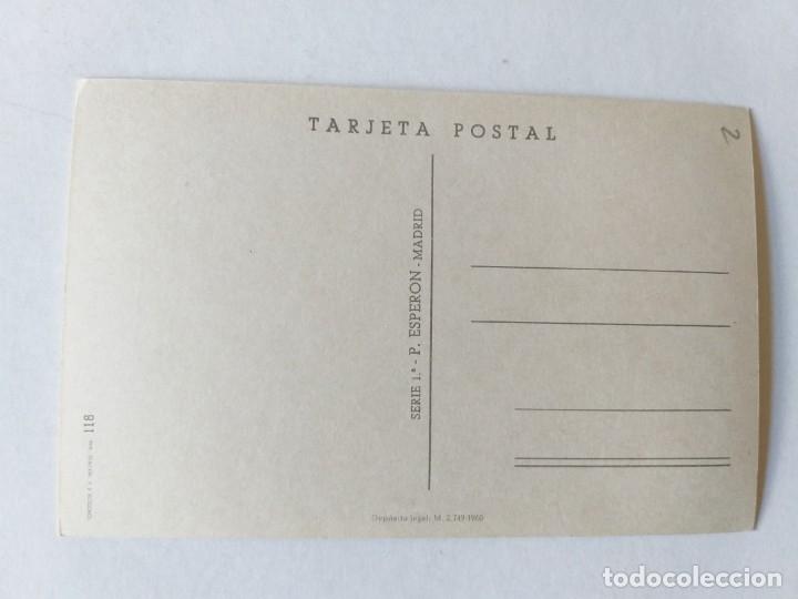 Postales: POSTAL ILUSTRADA. TRAJE REGIONAL. MUJER VESTIDA CON TRAJE TÍPICO DE SANTA CRUZ DE TENERIFE - Foto 2 - 245366840