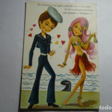 Postales: POSTAL MARINO Y HAWAIANA . Lote 180268776