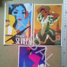 Cartes Postales: TUBAL 3 POSTALES SEVILLA ENVIO 70 CENT € 2019 B08. Lote 181483387