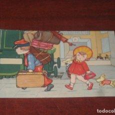 Postales: POSTAL- AMAG 0320 - ESCRITA AÑO 1933 - SIN CIRCULAR - VER FOTOS DETALLES. Lote 182726900