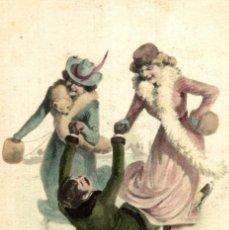 Cartes Postales: BRAUN W SOCKI VIENNE ART NOUVEAU ART DÉCO A.S.W. O A.S.V. ILLUSTRATION VIENNOISES BONIN COLECCTI. Lote 183575531