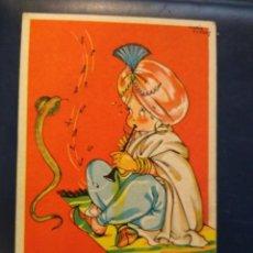 Postales: MARI PEPA SERIE XX NUM 2 . EN LA INDIA , QUE PASARA, SI PARO LA MUSIQUITA ? SIN CIRCULAR.. Lote 184028996