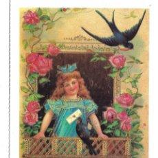Postales: 8 BONITAS POSTALES ANTIGUAS DE - NIÑOS - ENRIQUETA Y ENRIQUE - COLECCION ISBN DE 1.984. Lote 184029417