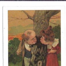 Postales: 8 BONITAS POSTALES ANTIGUAS DE - DAMAS Y PAREJAS - COLECCION ISBN DE 1.984. Lote 184030806