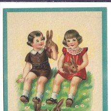 Postales: 5 BONITAS POSTALES ANTIGUAS DE - NIÑOS - COLECCION - C.M.B. - NUEVAS. Lote 184032395