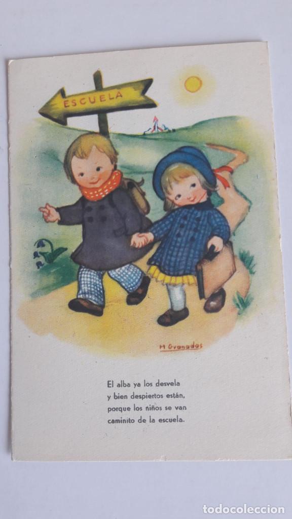 1 POSTAL EDICIONES JBR. SERIE 73. ILUSTRADA POR GRANADOS. SIN CIRCULAR (Postales - Dibujos y Caricaturas)