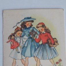 Postales: 1 POSTAL EDICIONES JBR. SERIE 12. ILUSTRADA POR ROSA LLONGUERAS. SIN CIRCULAR. Lote 184047985