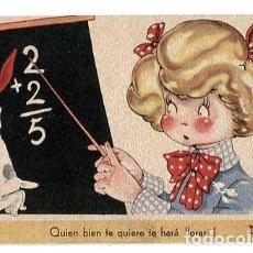 Postales: POSTAL ILUSTRADA MARIA CLARET ( NIÑOS ) ED.MARI PEPA SERIE G. LIT. VALVERDE SAN SEBASTIAN. Lote 184472195