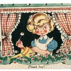 Postales: POSTAL ILUSTRADA MARIA CLARET ( NIÑOS ) ED.MARI PEPA SERIE E Nº1. LIT. VALVERDE SAN SEBASTIAN. Lote 184472413