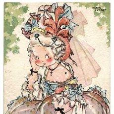 Postales: POSTAL ILUSTRADA MARIA CLARET ( NIÑOS ) ED.MARI PEPA SERIE Z Nº4. LIT. VALVERDE SAN SEBASTIAN. Lote 184472511