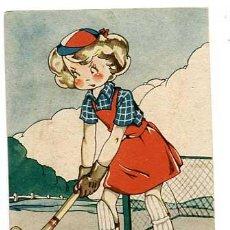 Postales: POSTAL ILUSTRADA MARIA CLARET ( NIÑOS ) ED.MARI PEPA SERIE D Nº5. LIT. VALVERDE SAN SEBASTIAN. Lote 184472608