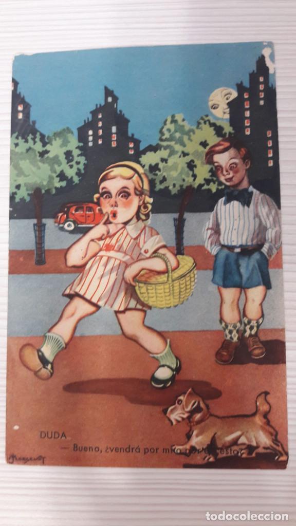 1 POSTAL EDICIONES PABLO DÜMMATXEN. SERIE 815. SIN CIRCULAR (Postales - Dibujos y Caricaturas)