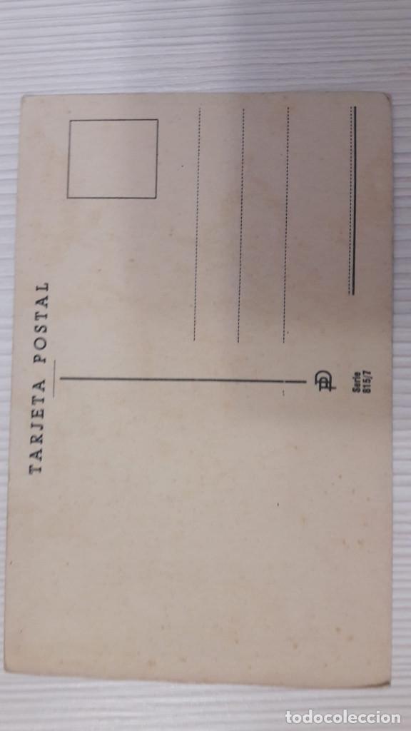Postales: 1 POSTAL EDICIONES PABLO DÜMMATXEN. SERIE 815. SIN CIRCULAR - Foto 2 - 184933067