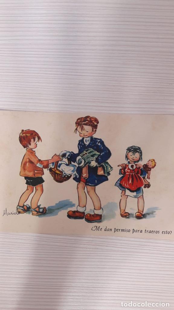 1 POSTAL EDICIONES PABLO DÜMMATXEN. SERIE 832. SIN CIRCULAR (Postales - Dibujos y Caricaturas)