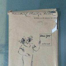 Postales: MEMORIAL CHARLIE RIVEL 1984. . Lote 185748006