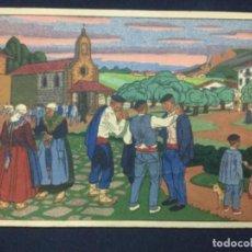 Postales: POSTALES VASCAS N° 10 - DIBUJOS DE JOSE ARRUE. Lote 186386992