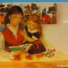 Postales: MADRE E HIJA FELICES. BONITA POSTAL. NUEVA. Lote 188450891