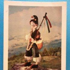 Postales: ASTURIAS, ESPAÑA. TRAJE TIPICO REGIONAL. MUÑECOS ORIGINALES DE NISTIS. BONITA POSTAL. NUEVA. Lote 188451371
