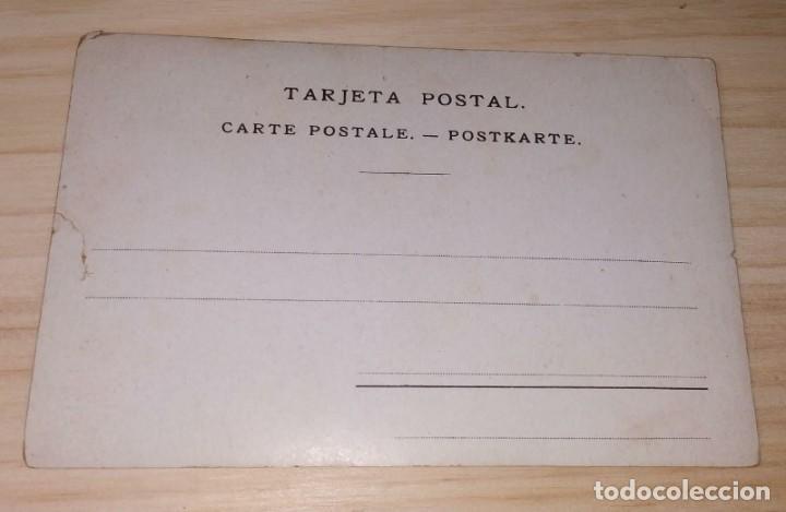 Postales: POSTAL ILUSTRADA POR RAMON CASAS. ED. J. THOMAS BARCELONA. SIN CIRCULAR. - Foto 2 - 190080178