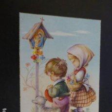 Postales: I. VERNET ILUSTRADORA NIÑOS REZANDO POSTAL. Lote 190136842