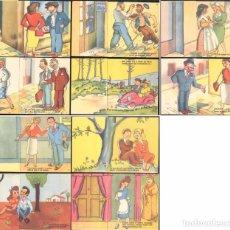 Postales: 10 POSTALES DE LA ESTAMPERIA RAM. Lote 190223001