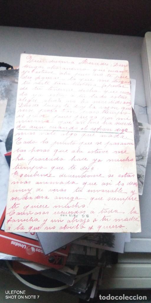Postales: postal escrita fleur d`haver 1914 - Foto 2 - 190551653