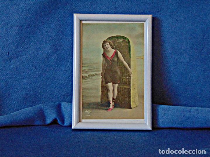 Postales: TRES POSTALES ILUSTRADAS SIN CIRCULAR ENMARCADAS. MEDIDAS 11 X 16 CM. - Foto 4 - 190753096