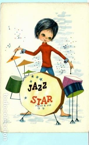 POSTAL DE PTOCA JAZZ DIBUJO DE DI ROSA Nº 6651 SIN CIRCULAR (Postales - Dibujos y Caricaturas)