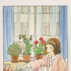 Postales: POSTAL REPRODUCCIÓN ILUSTRADOR: RIE CRAMER, ILUSTRACIÓN DE UN LIBRO (1940) - VAN GOOR - S/C. Lote 243850075