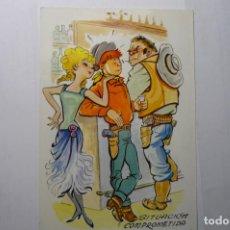 Postales: POSTAL COW BOYS - ESCRITA . Lote 191660955