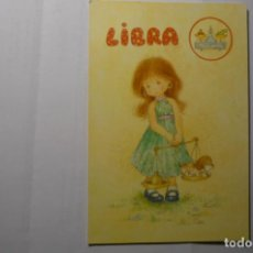 Postales: POSTAL HOROSCOPO .- LIBRA - DIBUJO CORI C Y Z 6373-B CIRCULADA. Lote 191661011