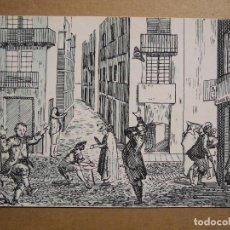 Postales: EXPRESIONES DE LOS JUGADORES DE LA REAL LOTERIA. SERIE B Nº 4 . SIN CIRCULAR. Lote 191809731