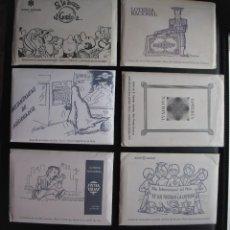 Postales: LOTE DE TARJETAS POSTALES DE LOTERÍA NACIONAL. Lote 192064541