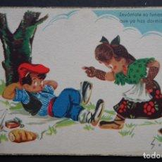 Postales: POSTAL CIRCULADA DEL AÑO 1959 DE EDICIONES COLON. Lote 192175070