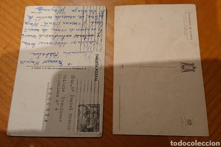 Postales: Lote postales Popeye y Blanca Nieves. Ved reverso. - Foto 2 - 192284020