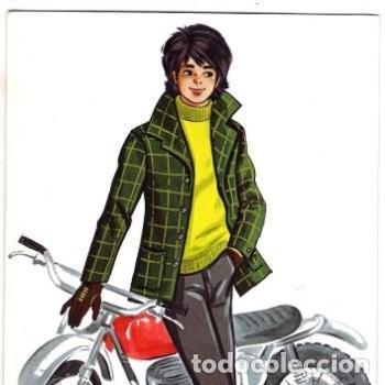 -72036 POSTAL DIBUJO CHICO CON MOTO, ILUSTRACION J, CORREAS, EDICIONES SAVIR Nº 991 (Postales - Dibujos y Caricaturas)