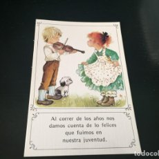 Postales: BONITA POSTAL -LA DE LAS FOTOS QUE NO TE FALTE EN TU COLECCION VER TODOS MIS LOTES. Lote 193782980