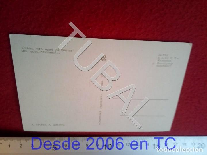 Postales: TUBAL POSTAL RUSA CAZA CINEGETICA 1968 B47 - Foto 2 - 194151563
