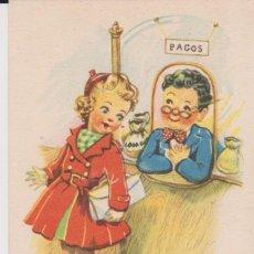 Postales: MELODÍAS EN BOGA -- COLECCIÓN E DE DIEZ POSTALES . Lote 194235730