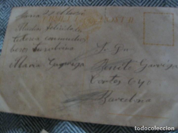Postales: 2 postal antigua - kiss me besame- ilustrador vives y careta - preciosas - Foto 2 - 194237476
