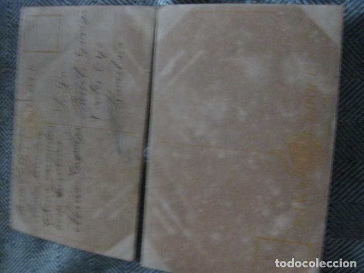 Postales: 2 postal antigua - kiss me besame- ilustrador vives y careta - preciosas - Foto 3 - 194237476