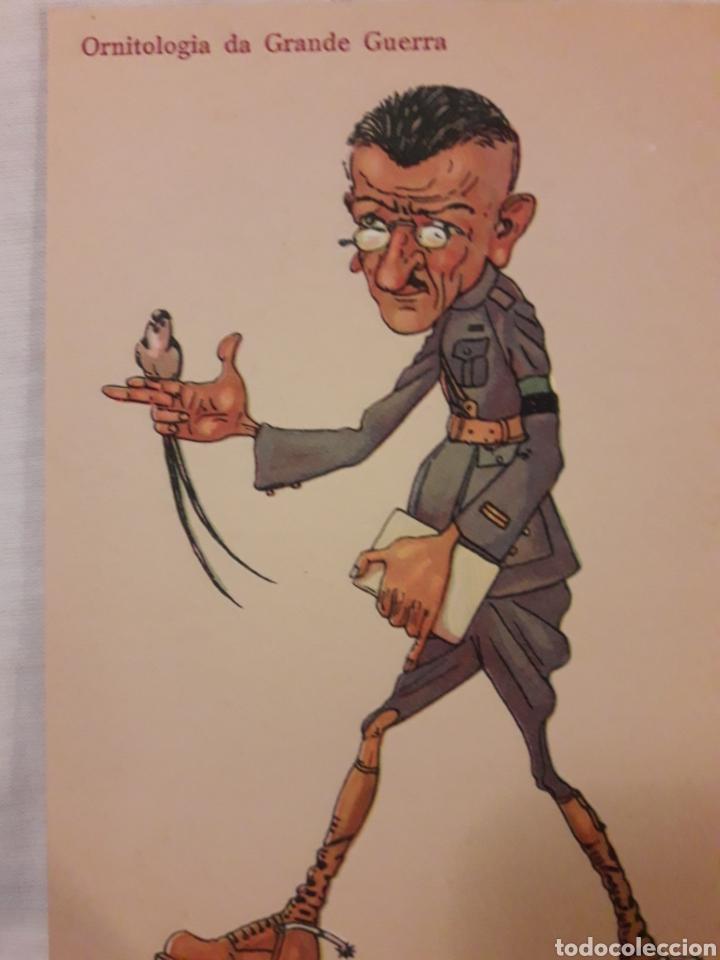CARICATURA ORNITOLOGIA DA GRANDE GUERRA POSTAL (Postales - Dibujos y Caricaturas)