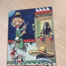 Postales: POSTAL CANTINFLAS. CUATRO PALOMITAS BLANCAS. COLECCIÓN ASES CINE. ED. ARFA. SERIE 51/4. CIRCULADA.. Lote 194289766