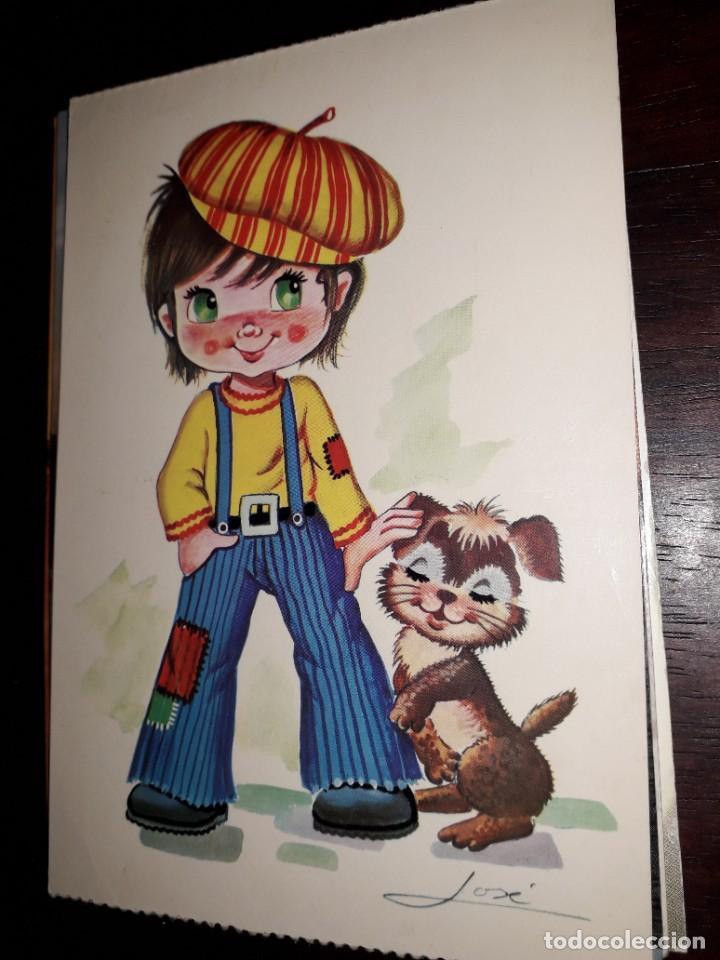 Nº 35887 POSTAL NIÑO OTOÑO 4 (Postales - Dibujos y Caricaturas)