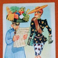 Postales: ANTIGUA TARJETA POSTAL ILUSTRADA POR ROICHI. EDICION PD SERIE 689. AÑOS 40. USADA. Lote 194492125