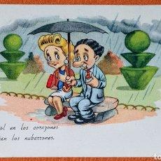 Postales: ANTIGUA TARJETA POSTAL, EDICIONES PABLO DÜMMATSCEN SERIE 1224. ESCRITA POR LA PARTE TRASERA.. Lote 194577800